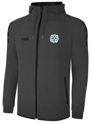 MVLA LIFESTYLE TECH FLEECE ZIP UP HOODIE -- DARK HEATHER GREY BLACK -- IS ON BACK ORDER, WILL SHIP BY 2/8/21