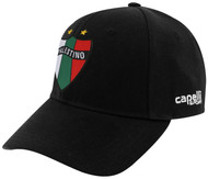 PALESTINO BASEBALL HAT -- BLACK WHITE