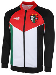 PALESTINO TRACK JACKET - BLACK RED WHITE