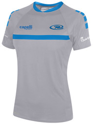 RUSH NORTHERN COLORADO SPARROW SHORT SLEEVE TRAINING JERSEY-- GREY BLUE