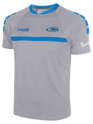 RUSH NORTHERN COLORADO SPARROW SHORT SLEEVE TRAINING JERSEY --  GREY BLUE