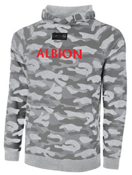 ALBION SC® SAN DIEGO PB LIFESTYLE FRENCH TERRY CAMO PRINT W/ RED TEXT -- LIGHT GREY COMBO  --  IS ON BACK ORDER, WILL SHIP BY 11/15