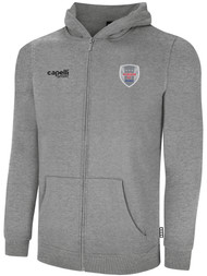 ALBION SC® SAN DIEGO PB BASICS FLEECE FULL ZIP HOODIE -- LIGHT HEATHER GREY
