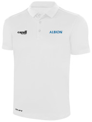 ALBION SC® SAN DIEGO NORTH PB CLASSICS POLY POLO -- WHITE BLACK