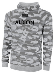 ALBION SC MERCED PB LIFESTYLE FRENCH TERRY CAMO PRINT W/ BLACK TEXT -- LIGHT GREY COMBO  --  IS ON BACK ORDER, WILL SHIP BY 11/15