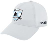 MIFC TEAM BASEBALL HAT -- WHITE BLACK