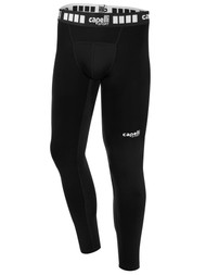 MIFC BOYS AND MEN PERFORMANCE TIGHTS -- BLACK WHITE