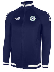 MVLA UPTOWN TRAINING JACKET -- NAVY WHITE  --  IS ON BACK ORDER, WILL SHIP BY 10/30