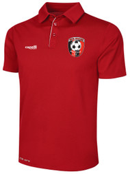 HUB BASICS POLYESTER POLO  -- RED