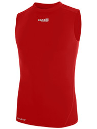 HUB SLEEVELESS PERFORMANCE TOP - - RED