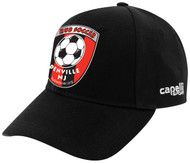 HUB CS II TEAM BASEBALL HAT- - BLACK WHITE