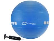 HUNTER SC 55 CM EXERCISE BALL -- BLUE