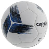 HUNTER SC  CAPELLI SPORT TRIBECA STRIKE PRO FIFA PRO THERMAL BONDED SOCCER BALL-- PROMO BLUE BLACK