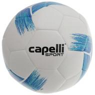 HUNTER SC  CAPELLI SPORT TRIBECA STRIKE TEAM  MACHINE STITCHED SOCCER BALL -- PROMO BLUE TURQUOISE
