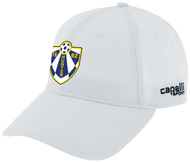 HUNTER SC CS TEAM BASEBALL CAP -- WHITE BLACK