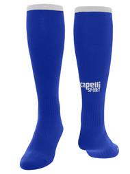 HUNTER SC  CS II Match Socks -KIT1-  ROYAL BLUE WHITE
