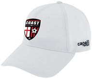 COAST FA CSII TEAM BASEBALL CAP WHITE/BLACK