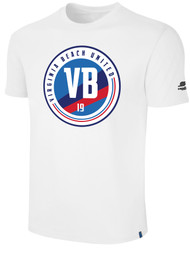 VIRGINIA BEACH COTTON SHORT SLEEVE T-SHIRTS -- WHITE