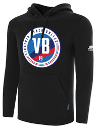 VIRGINIA BEACH ZIP UP HOODIE  -- BLACK