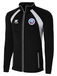 VIRGINIA BEACH RAVEN TRAINING JACKET   -- BLACK WHITE