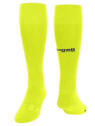 ARKANSAS COMETS CAPELLI SPORT CS II MATCH SOCKS NEON YELLOW BLACK