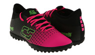ARKANSAS CAPELLI SPORT FUSION YOUTH TURF SOCCER SHOES NEON PINK/NEON GREEN/BLACK