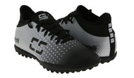 ARKANSAS CAPELLI SPORT FUSION YOUTH TURF SOCCER SHOES BLACK/SILVER