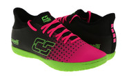 ARKANSAS CAPELLI SPORT FUSION YOUTH INDOOR SOCCER SHOES NEON PINK/NEON GREEN/BLACK