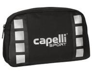"""CAPELLI SPORT 4 CUBE DOPP KIT 11""""L x 3.5""""W x 6.75""""H BLACK/SLV MET"""
