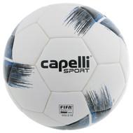 ARKANSAS COMETS CAPELLI SPORT TRIBECA STRIPE PRO, FIFA PRO THERMAL BONDED SOCCER BALL PROMO BLUE BLACK