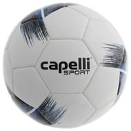 COAST FA  CAPELLI SPORT TRIBECA STRIKE PRO FIFA PRO THERMAL BONDED SOCCER BALL-- PROMO BLUE BLACK