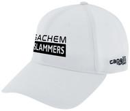 SACHEM SLAMMERS CS II TEAM BASEBALL CAP WHITE BLACK