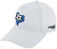 SOCCER CENTRO CS II TEAM BASEBALL CAP WHITE BLACK