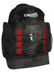 PALESTINO 4 CUBE BACKPACK RED BLACK