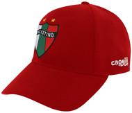 PALESTINO CS TEAM BASEBALL CAP RED WHITE