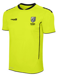 ROCKPORT FUTSAL SPARROW SHORT SLEEVE GOALKEEPER JERSEY NEON YELLOW BLACK