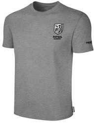 ROCKPORT FUTSAL BASICS SHORT SLEEVE T-SHIRT LIGHT HEATHER GREY