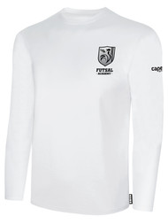ROCKPORT FUTSAL BASICS LONG SLEEVE T-SHIRT WHITE BLACK