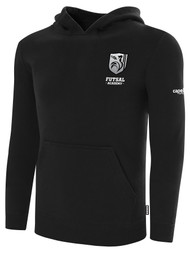 ROCKPORT FUTSAL BASICS FLEECE HOODIE BLACK WHITE