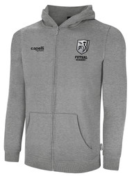 ROCKPORT FUTSAL BASICS FULL ZIP HOODIE LIGHT HEATHER GREY