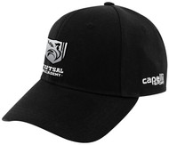 ROCKPORT FUTSAL CS II TEAM BASEBALL CAP BLACK WHITE