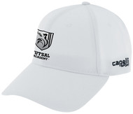 ROCKPORT FUTSAL CS II TEAM BASEBALL CAP WHITE BLACK