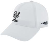 ROCKPORT FUTSAL CS II TEAM BASEBALL CAP WHITE BLACK