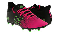 ROCKPORT FUTSAL  SOCCER  FUSION YOUTH FIRM GROUND SOCCER CLEATS NEON PINK/NEON GREEN/BLACK
