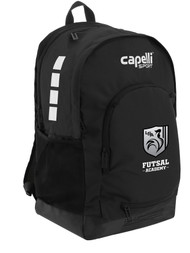 "ROCKPORT FUTSAL  CS II BACKPACK 19.5""h x 12.5""w x 7""d BLACK WHITE"