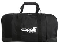"ROCKPORT FUTSAL  CS II MEDIUM DUFFLE BAG 24""L x 12"".5W x 12""H BLACK/WHITE"