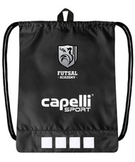"ROCKPORT FUTSAL  CS II SIMPLE SACK PACK 18"" h x 14.5w"" x .5"" BLACK/WHITE"