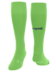 PRO REFEREE CS II MATCH SOCKS -- BRIGHT GREEN NAVY