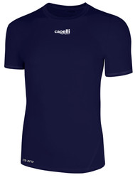 PRO THERMADRY SHORT SLEEVE PERFORMANCE TOP -- NAVY