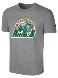 ROCHESTER JUNIOR RHINOS BASIC TEE -- LIGHT HEATHER  GREY  ($14-$16)